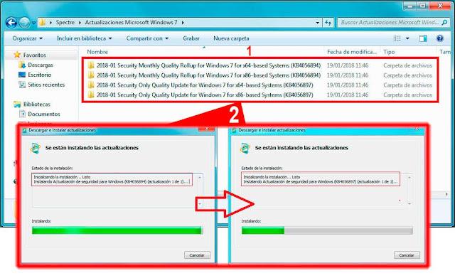 Es muy aconsejable que instalemos también todas las actualizaciones que tengamos disponibles en Windows Update, antes de instalar las actualizaciones de seguridad de Microsoft Windows de enero de 2018.