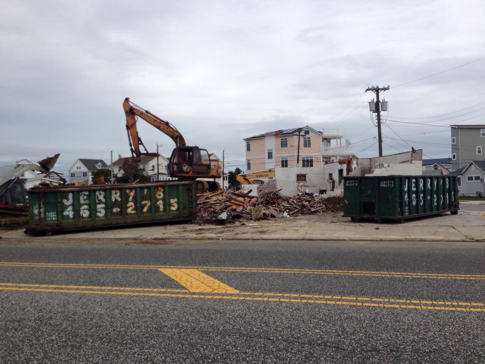 Wildwood 365: Photo Update: The Lamp Post Diner disappears into ...