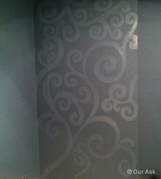 Modern Wall Art Matte Enamle Painting