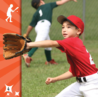 sample page #2 from BASEBALL  (Sports For Sprouts)  by Holly Karapetkova