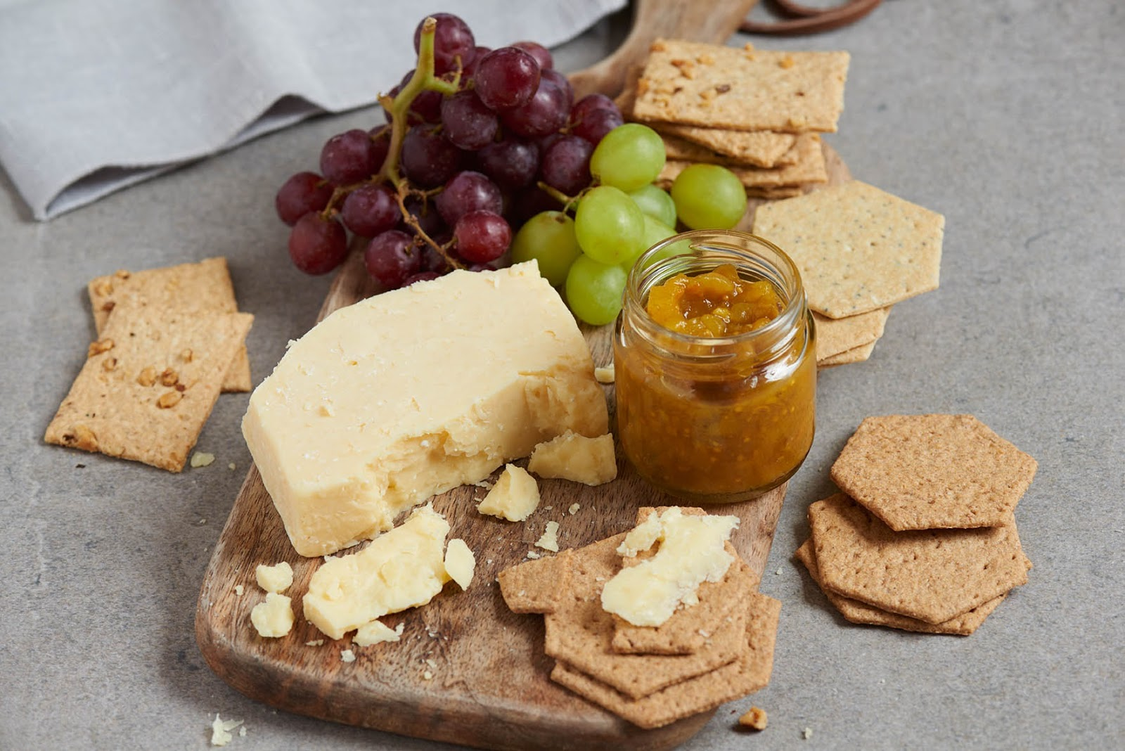 Quince, Orange And Chestnut Chutney With Davidstow® Cheddar