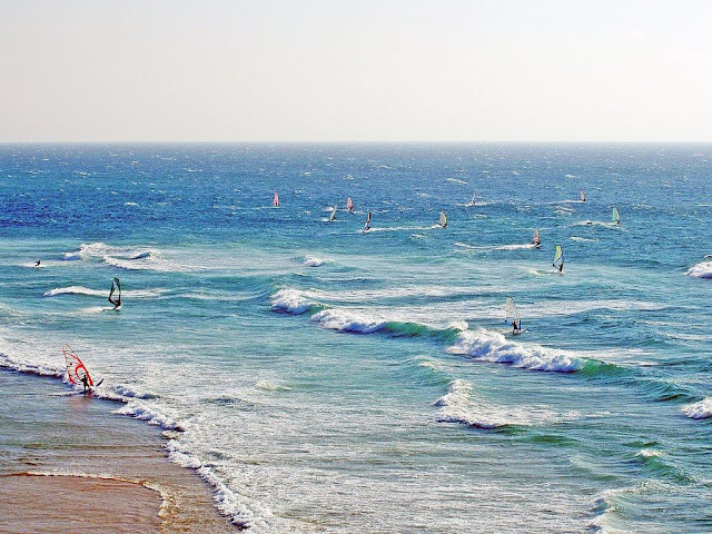 Praia do Guincho - windsurf