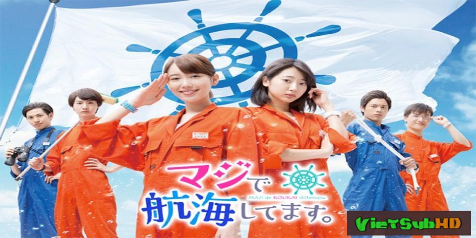 Phim Tôi Thật Sự Đang Đi Biển Tập 4 VietSub HD | Maji De Koukaishitemasu 2017