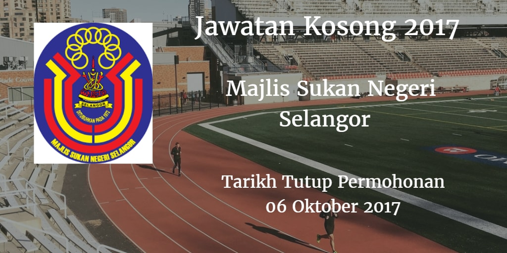 Jawatan Kosong MSN Selangor 06 Oktober 2017
