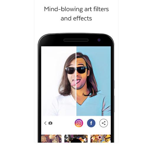 Update Aplikasi Prisma Kini Bisa Edit Foto Secara Offline