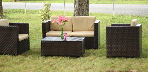 Best Choice Products 4-Piece Wicker Sofa Set Review