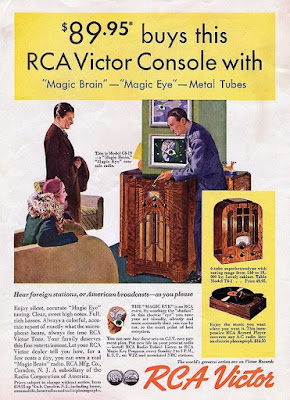 RCA Victor Console with Magic Eye