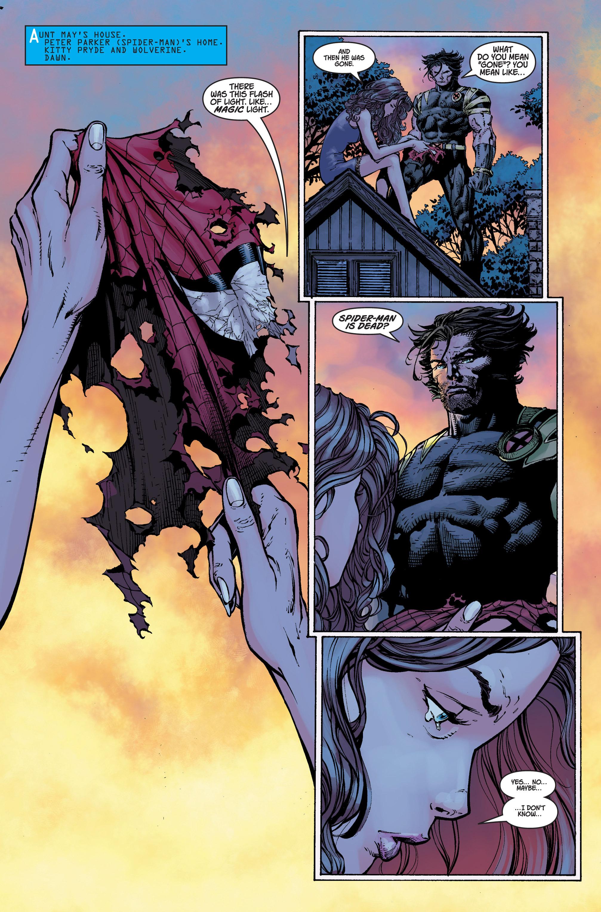 Read online Ultimatum comic -  Issue #4 - 14