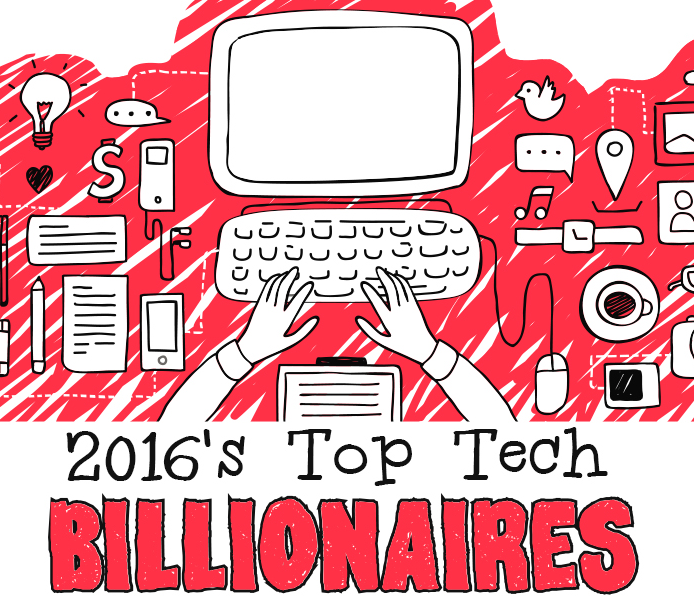 Top 10 Richest Tech Billionaires