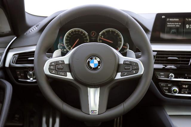 Novo BMW Série 5 2018 - painel