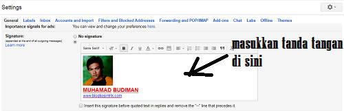 Panduan Lengkap Membuat Tanda Tangan (Signature) Pada Email Gmail