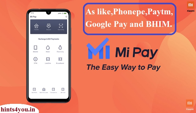 We will discuss about Mi Pay ,Which is a way to complete our payment at any places using UPI concept. The world's popular smartphone company, Xiaomi, has launched the Mi Payment App in India.