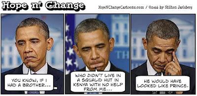 obama, obama jokes, political, humor, cartoon, conservative, hope n' change, hope and change, stilton jarlsberg, prince