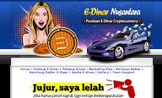 E dinar Indonesia - Jasa Pembuatan Blog E Dinar Coin