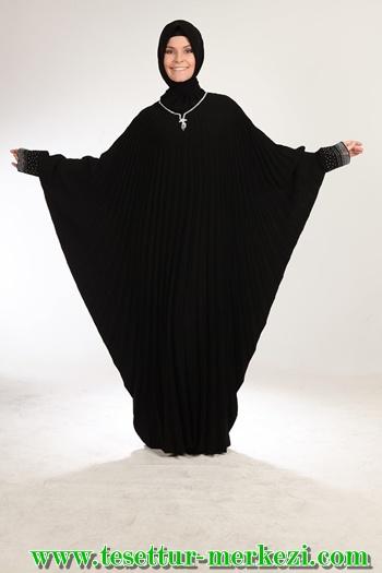 İnci Moda Tesettür Ferace Modelleri