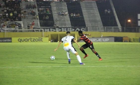Vitória perde para o Bragantino por 1 a 0 e fica em desvantagem