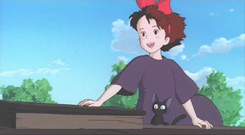 Kiki and Jiji Kiki's Delivery Service 1989 animatedfilmreviews.filminspector.com