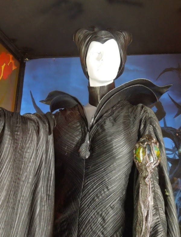 Angelina Jolie Maleficent movie costume and horns