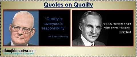 Quotes on Quality