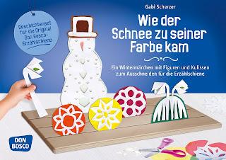 Gabi Scherzer - Wie der Schnee zu seiner Farbe kam (für Erzählschiene)