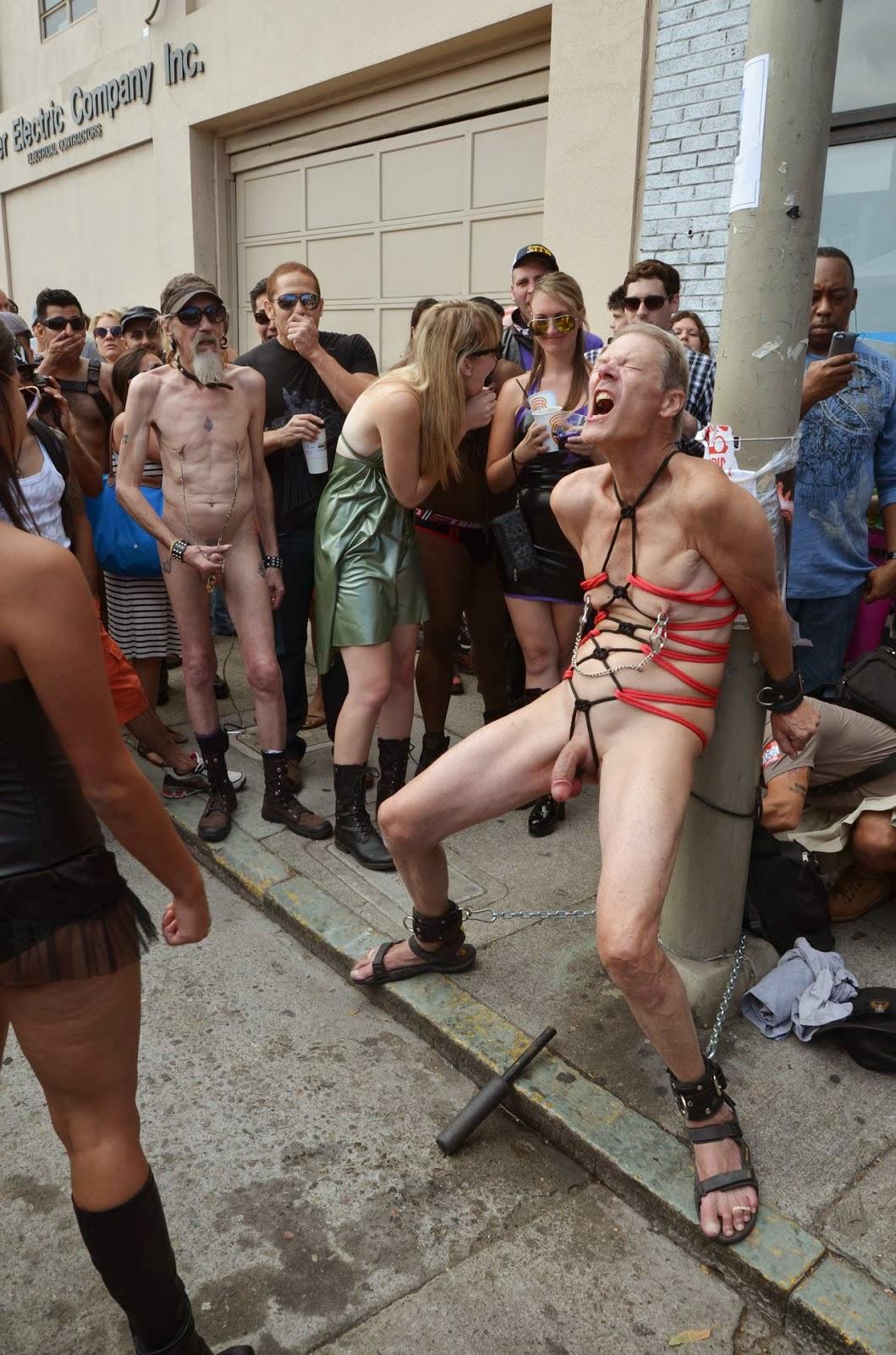 Cleave gag bondage sex
