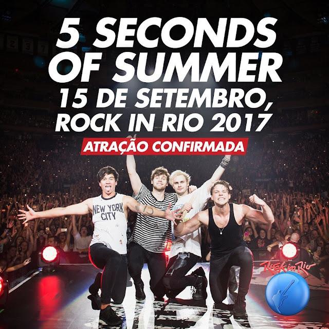 Assistir 5 Seconds of Summer Show Rock in Rio 2017 Torrent 720p 1080p Online