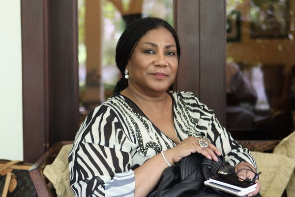 Things are looking good for Ghana – First Lady
