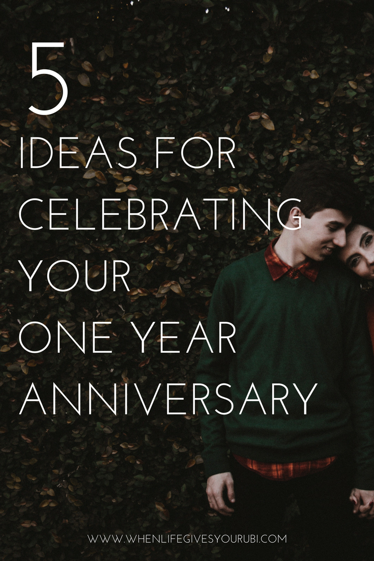 5 ideas for celebrating