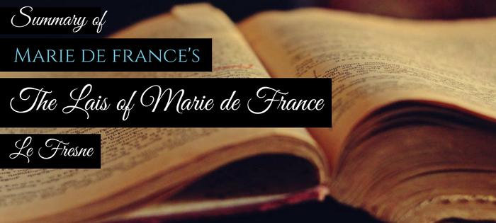 Summary of Marie de France's The Lais of Marie de France