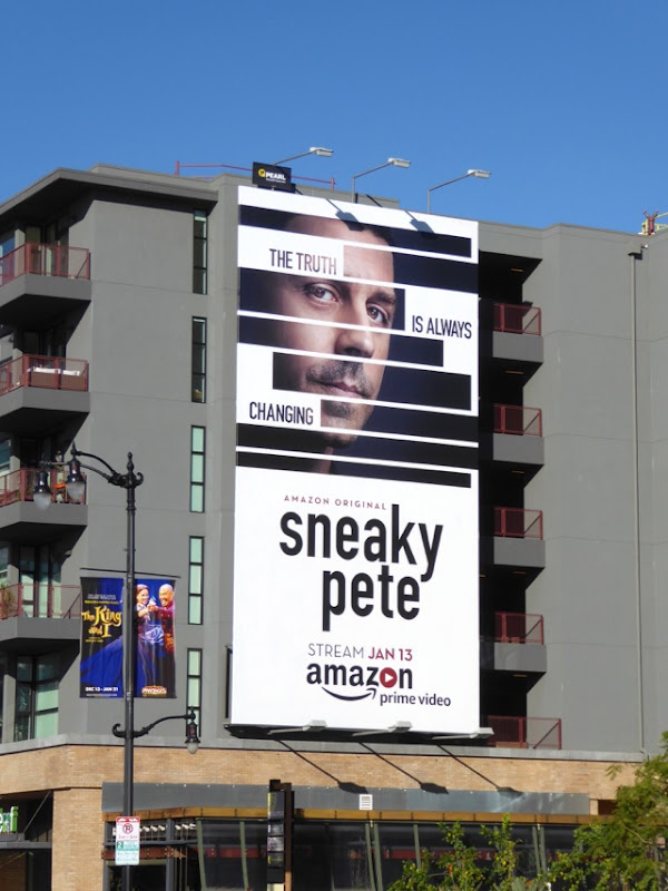 Sneaky Pete season 1 billboard
