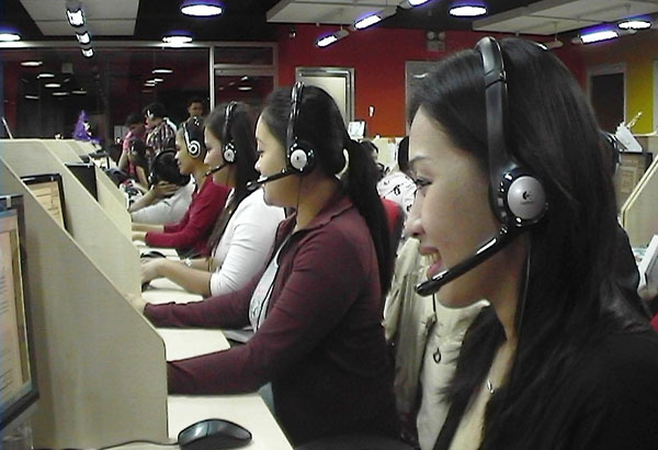 call center agents at risk of losing their jobs