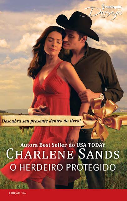 O Herdeiro Protegido Harlequin Desejo - ed.176 - Charlene Sands