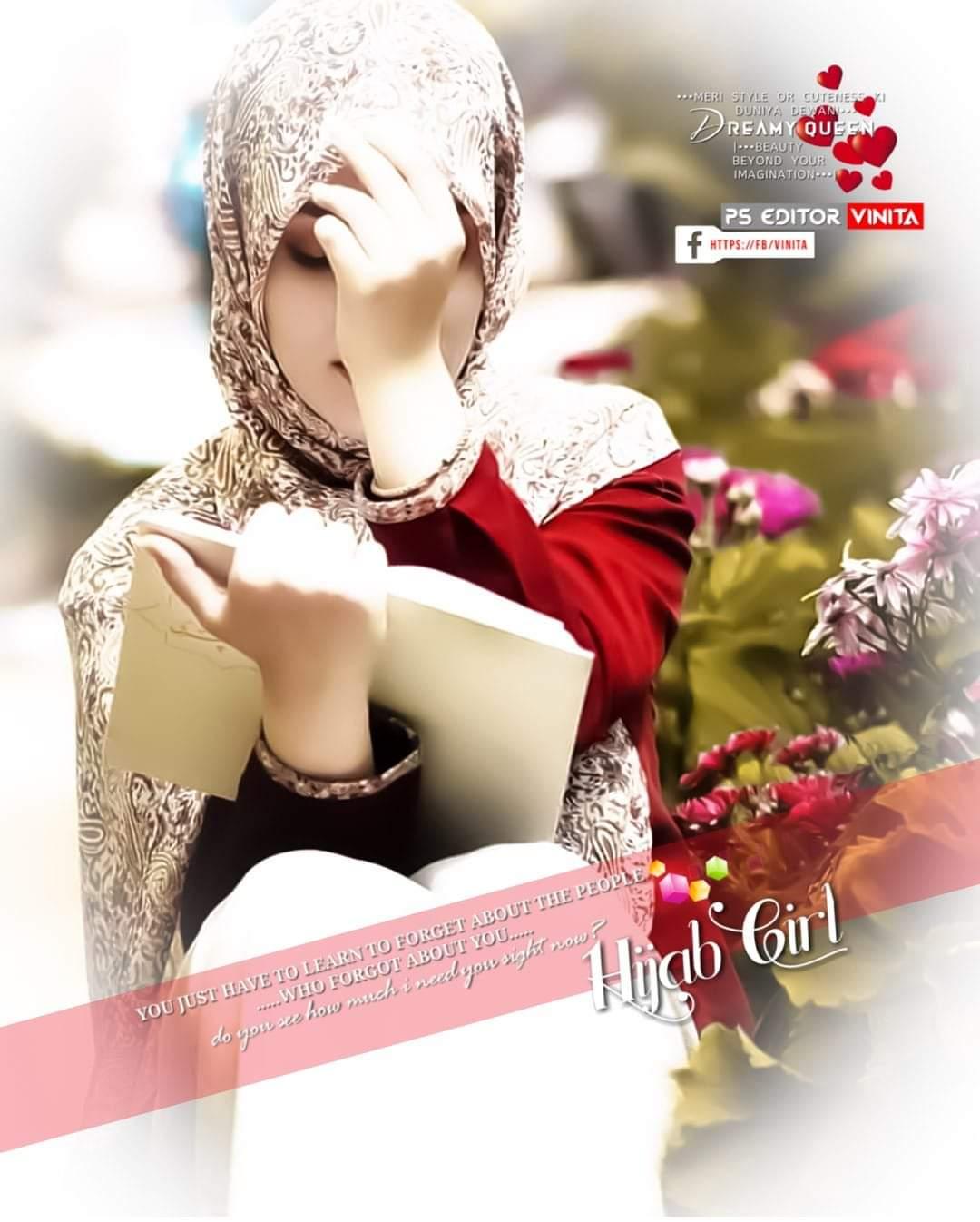 Stylish hijabi girl