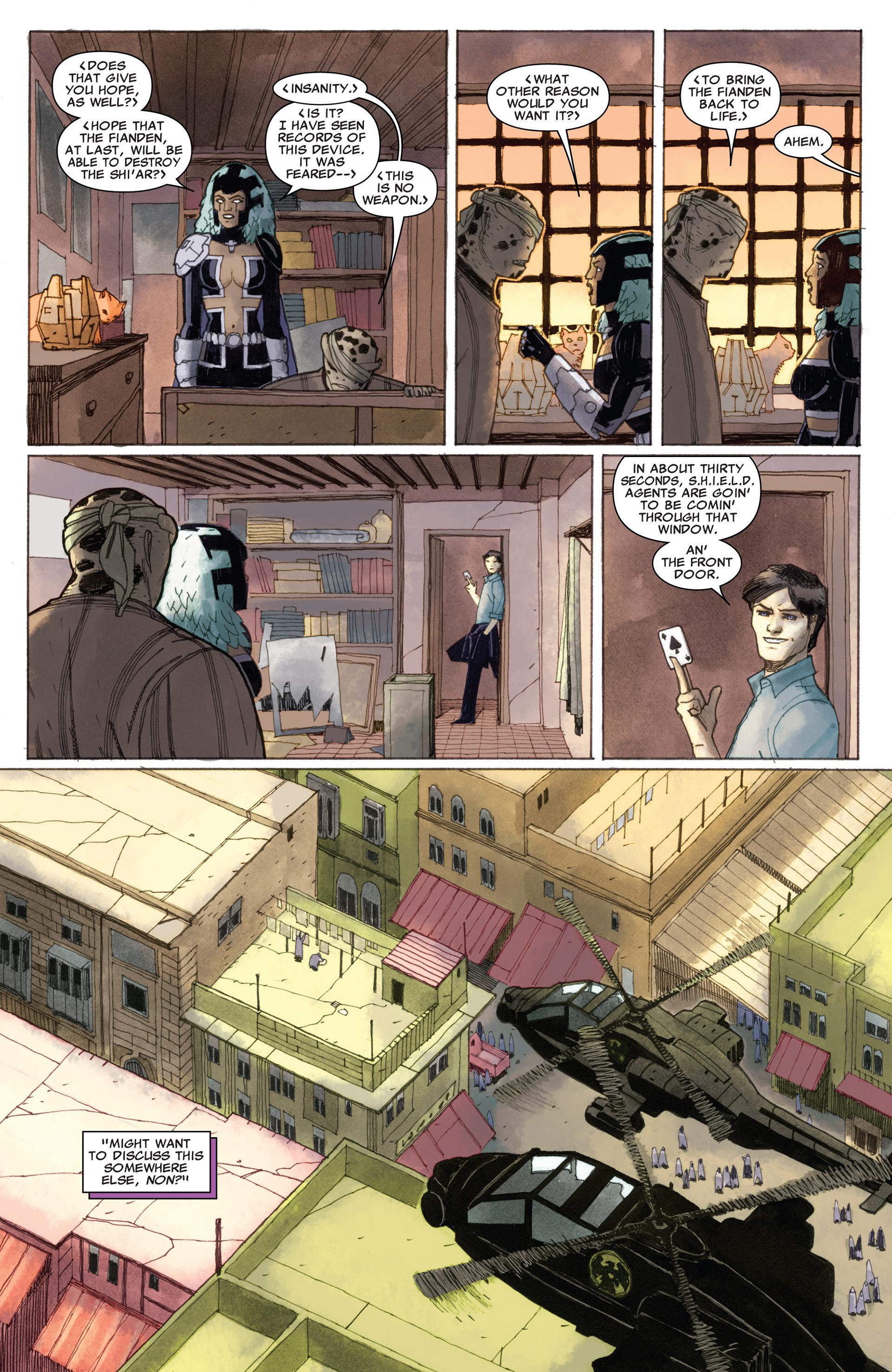 Read online Astonishing X-Men (2004) comic -  Issue #58 - 9