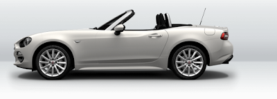 2017 FIAT 124 Spider side view hd pics