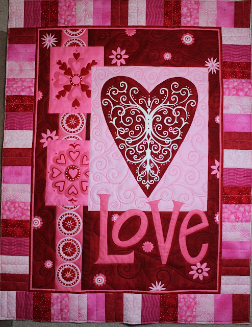 Valentine Love wall hanging