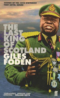 Book cover for Giles Foden's The Last King of Scotland in the South Manchester, Chorlton, and Didsbury book group