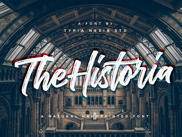 The Historia Brush Script Font Free Download