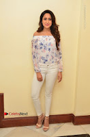 Actress Pragya Jaiswal Latest Pos in White Denim Jeans at Nakshatram Movie Teaser Launch  0002.JPG