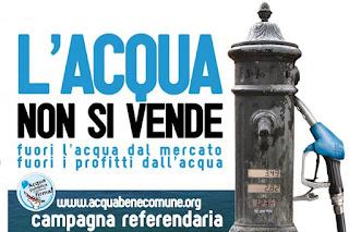 Italiani hanno detto si all'acqua pubblica | Società e relazioni
