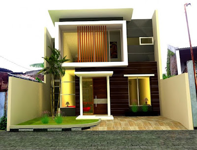 7+ desain rumah minimalis 2 lantai luas tanah 40m2