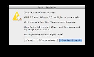 gimp mac 10.7.5