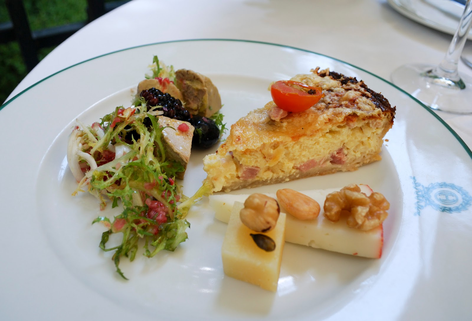 Hotel Orfila brunch Madrid Spain five star buffet