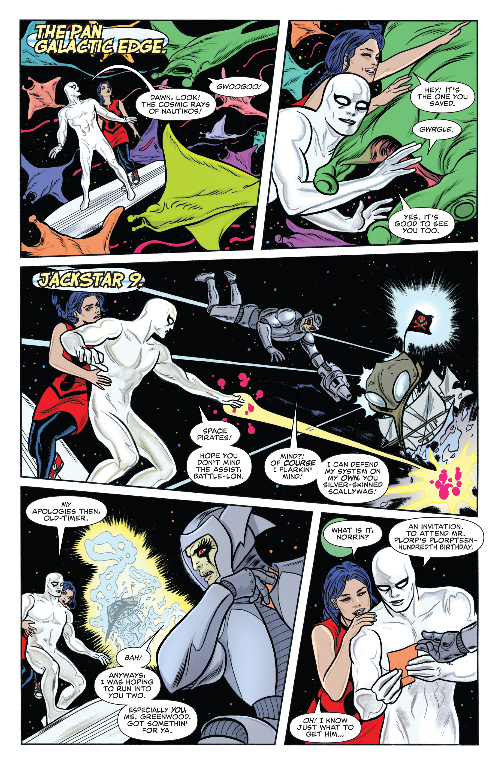 Read online Silver Surfer (2014) comic -  Issue #13 - 6