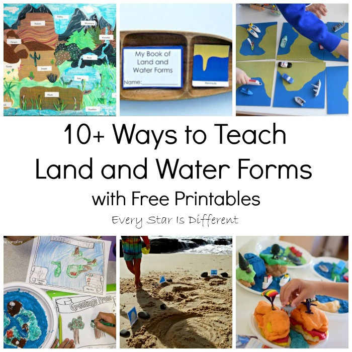 10 Ways to Teach Land and Water Forms