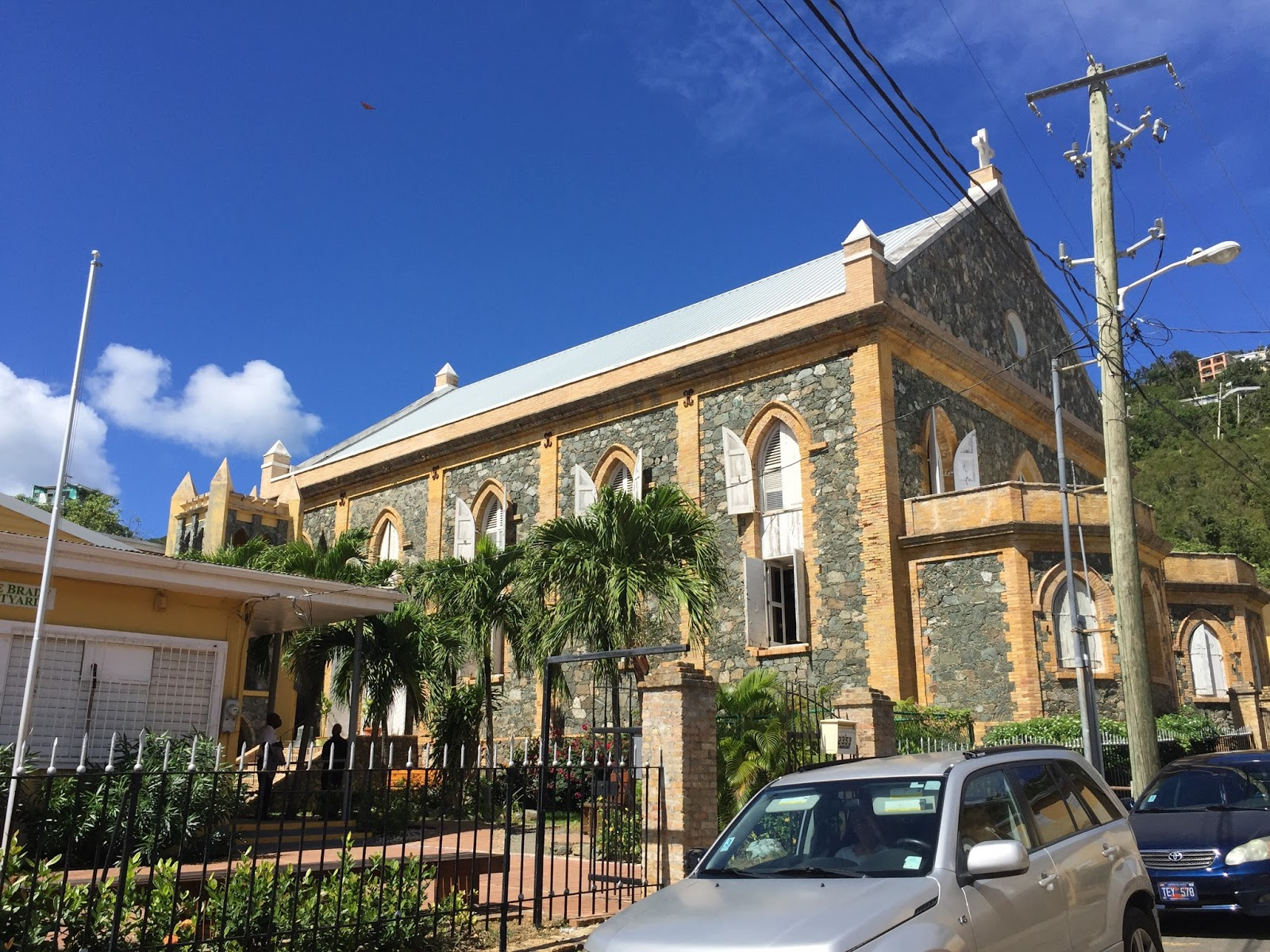 the cathedral church of all saints episcopal anglican charlotte amalie st thomas united states virgin islands