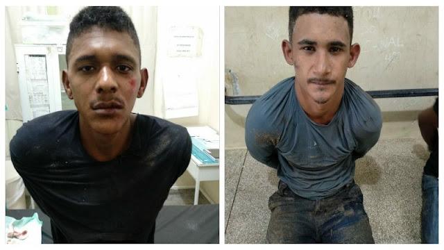 Assaltantes são imobilizados por populares e apreendidos pela Polícia em Cruzeiro do Sul