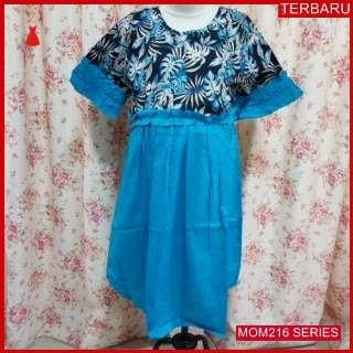 MOM216D20 Dress Hamil Menyusui Modis Queency Dresshamil Ibu Hamil