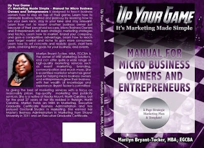 Marilyn Bryant-Tucker, business marketing, marketing micro, business owners, entrepreneurs, marketing for entrepreneurs, jealousy, marketing made simple, manual for entrepreneurs