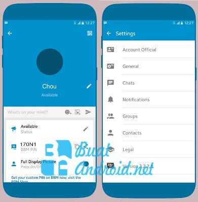 Download BBM Mod Official Terbaru v3.2.2.8 Apk